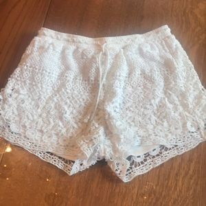 Lace Benetton shorts